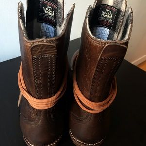 a8cfa99042 Woolrich Shoes - Rare Woolrich PBR Western Leather Ankle Boots